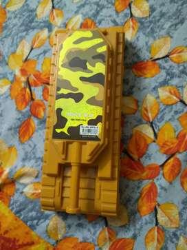 Yellow coloured pencil box