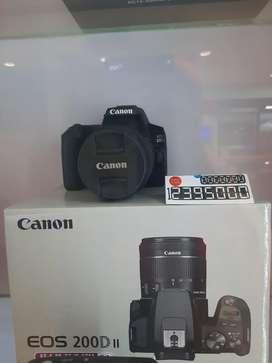 Kredit Kamera Canon Eos 200D II Bisa 0%