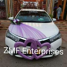 Rent a car for wedding and party