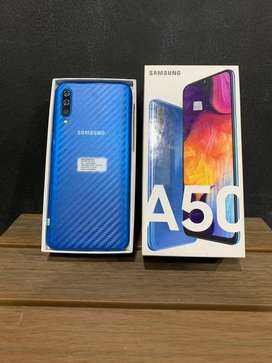 SAMSUNG, Samsung A50 6/128GB Blue Mulus!