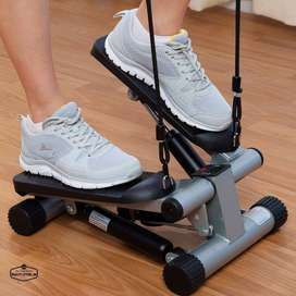 Mini Stepper Machine With Resistance Band