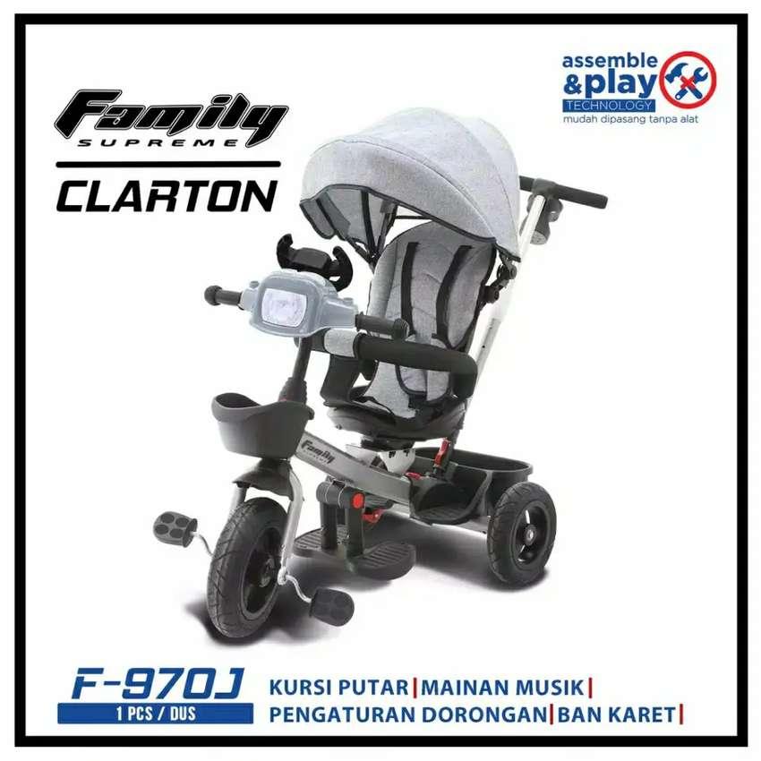 Stroller Sepeda Roda Tiga Family F-970J Clarton 0
