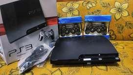PS 3 Slim Sony 150GB Fullset