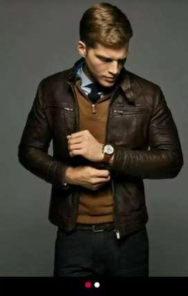 jaket kulit domba GARUT asli