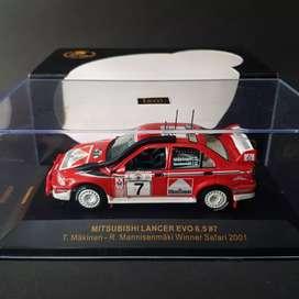 Mitsubishi Lancer WRC #7 Safari 2001 T. Makinen 1/43 by IXO