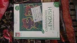 "Class 7 English book ""communicate in English"""