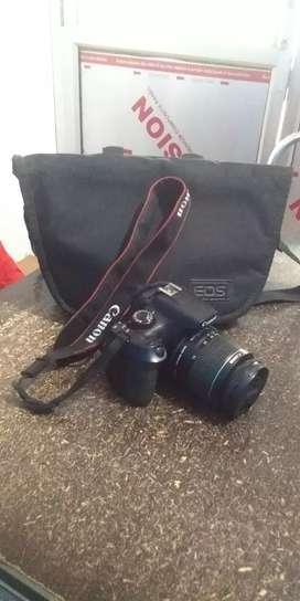 Canon Eos 1300D DSLR Camera with double Lens