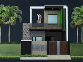 100 yard under construction house for sale in prime location