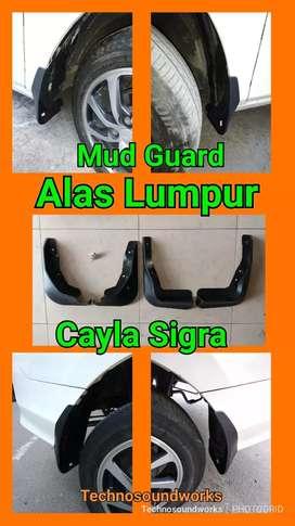 Ready Alas mud guard lumpur Calya sigra ready mobil xpander rush