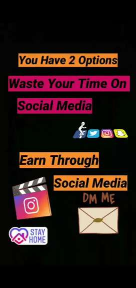 Want to earn extra income from utilize your waste time.