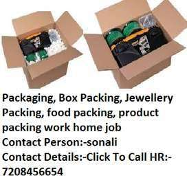Work From Home Urgent Opening for Packing Job