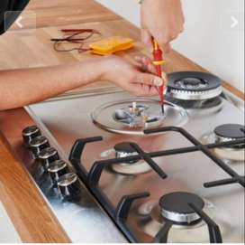 Hob chula repair service installation