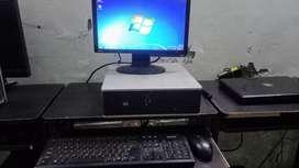 Desktop laptop on rent at  low price 899/ monthly