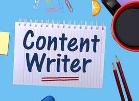 Content Writers Needed, Online Home based work