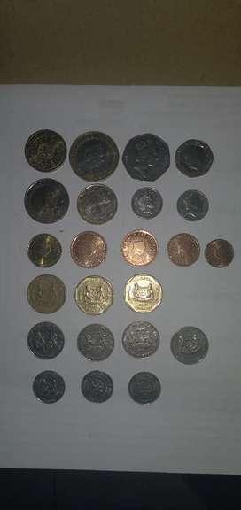 Koin logam asing kuno