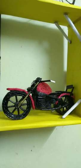 Handicrafts / paper bike & cycle price for per piece