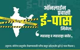 Epasses for travelling native or anuwhere in maharashta