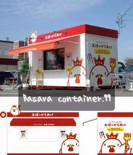 Booth kedai, booth usaha, semi container, booth jualan, booth chicken