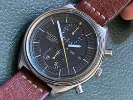 Rare Seiko Jumbo Vintage Chronograph Watch rolex, omega, hublot