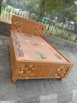 Brand new bed teak finishing 6/4 full folding new design