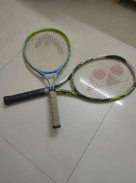 YONEX AND HEAD TENNIS BAT COMBO