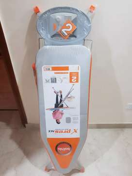 Unused New Bathla X-Pres Ace Large Foldable Ironing Board (Silver)