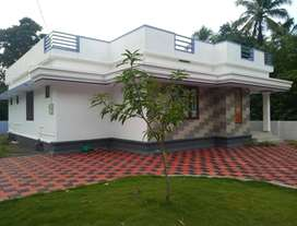 A NEW 3BHK 1300SQ FT 7.650CENTS HOUSE IN ATHANI,THRISSUR