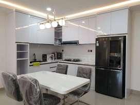 Jasa interior design building apartemen Podomoro golf view di Depok
