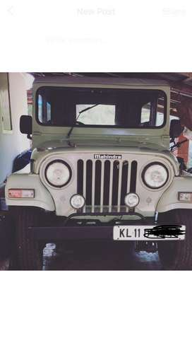Mahindra jeep mm540
