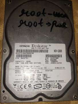 Kali linux installed .. hard disk 80GB