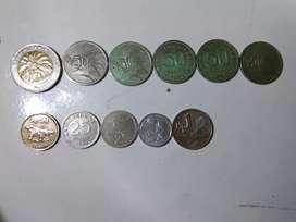 Dijual uang koin kuno Indonesia