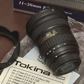 Tokina Wide Angle Lens 11-20 mm 2.8 ATX-Pro DX Lens for Nikon
