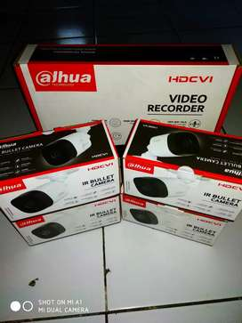 Dahua cctv 4 kamera bonus layar 17 in