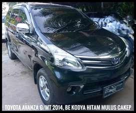 Toyota Avanza G 2014 MT/1.3 BE Kodya Hitam Mulus Cakep dari Xenia