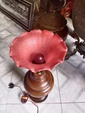 Lampu meja bunga petunia
