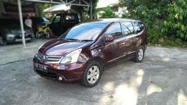 Nissan Grand Livina Type XV Tahun2011, Manual.