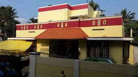 4 cent 5 year old house in Chempazhanthy Sreekariyam