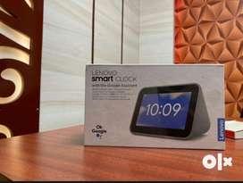 Lenovo Smart Clock with Google Assistant Smart Speaker(Grey)