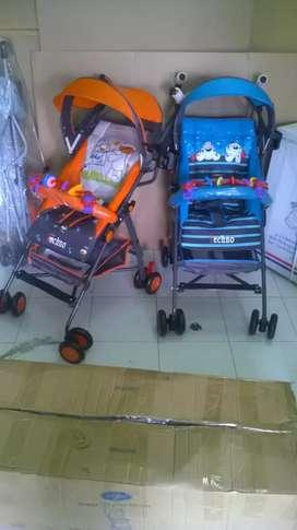 Stroller Pliko bisa 3 fungsi & gratis ongkir
