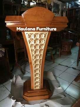 Mimbar masjid podium sby