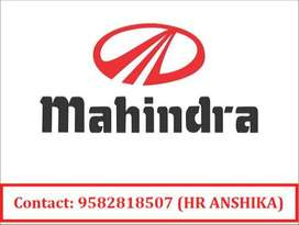 We are hiring for the candidates for various position in Mahindra