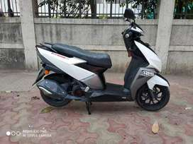 TVS NTORQ BLUE TOOTH CONNECTED SCOOTER. SINGLE OWNER..ONLY 4500 KMS
