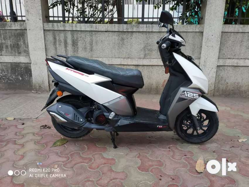 TVS NTORQ BLUE TOOTH CONNECTED SCOOTER. SINGLE OWNER..ONLY 4500 KMS 0