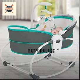 5 in 1 as newborn to toddler Rocking bassinet, Rocker to Chair