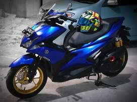Yamaha Aerox Abs 2018 muluss full modif