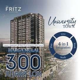 Apartemen Fully Furnish The Fritz di alam sutra