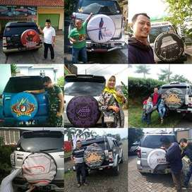 Cover/Sarung Ban Jeep/Rush/Terios/Touring/Ecosport/Dsb MantapBeud  Moh