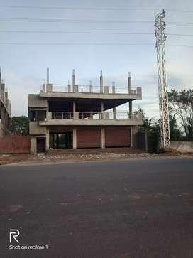 3 shutters for rent on main road moinabad near Kiran kanta