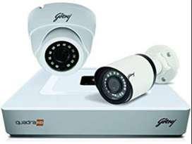 2 HD CCTV Camera setup installation-