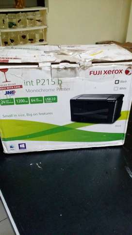 Printer laser Fuji Xerox P215b Rp 300rb